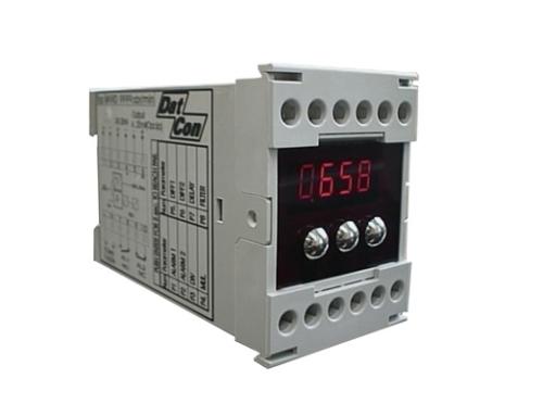 DMVS digitalni merilnik vrtljajev, hitrosti v panelni ali izvedbi za letev